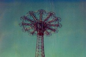 Polaroid: Parachute Jump #5