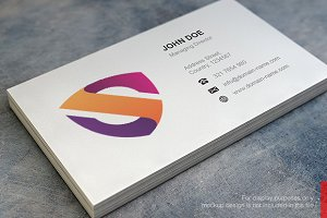 Letter S Logo and Business Card