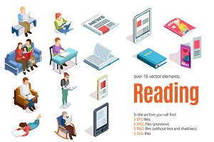Reading Isometric Set