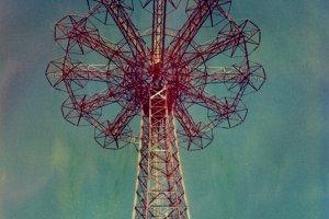Polaroid: Parachute Jump #4