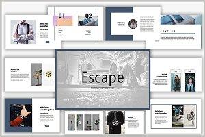 Escape Powerpoint Template
