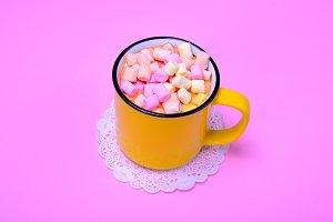 mug with cocoa