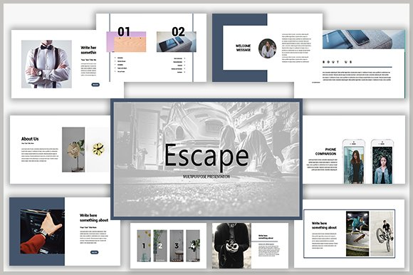 Escape Keynote Template