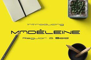 Madeleine Modern Typeface