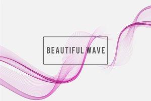Beautiful wave  Background