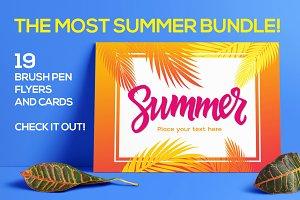 Summer Bundle - 19 Templates
