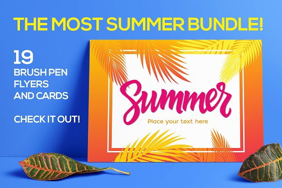Summer Bundle - 19 Template-Graphicriver中文最全的素材分享平台