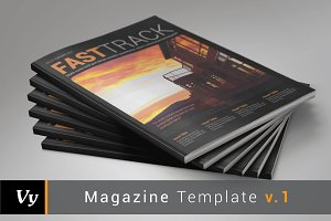 Magazine Template vol. 01
