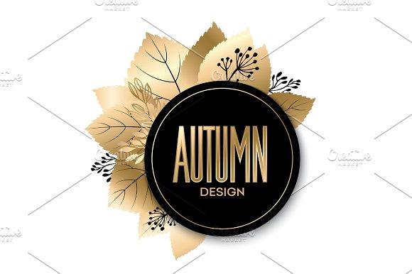 Gold Fall Design