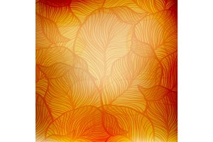 Abstract orange vintage background