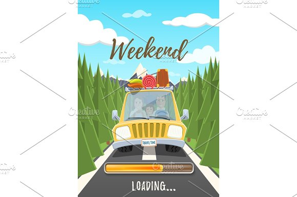 Weekend Loading Poster