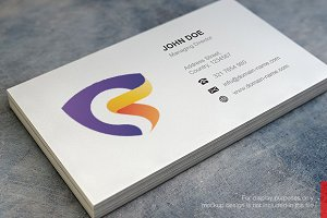 Abstract S Logo and Business Card