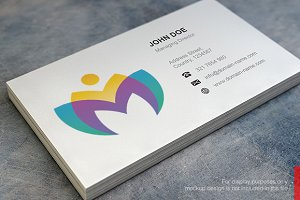 Flower Logo and Simple Business Card