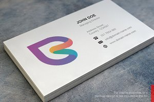 S Logo and Business Card