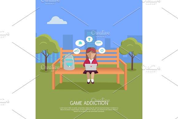 Game Addiction Banner