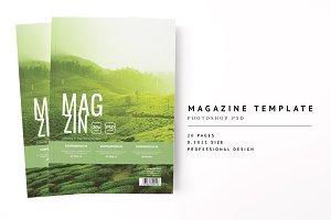 Magazine Template 10