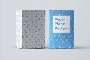 Paper Plane Pattern
