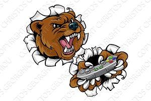 Bear Angry Esports Mascot