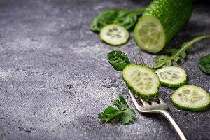 liced cucumber