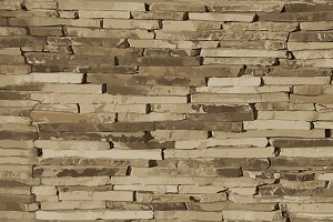 Flagstone wall cladding texture
