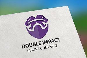 Double Impact Logo