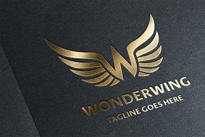 WonderWing (Letter W) Logo