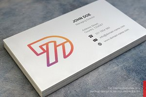 Seven D Logo and Business Card