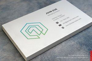 One Cube Logo and Business Card