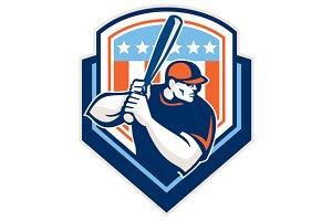 American Baseball Batter Hitter Shie