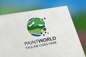 PaintWorld Logo