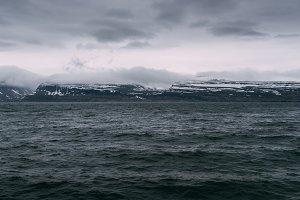 Dark Ocean and Moody Weather