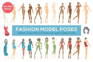 Fashion Illustration Model Poses