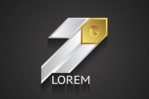Silver and Gold Business Logo