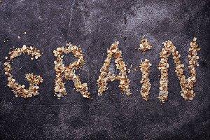 Assortment of grain
