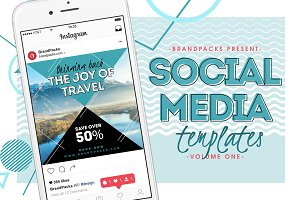 Social Media Templates Pack Vol.1