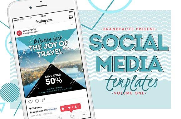 Social Media Templates Pack Vol.1