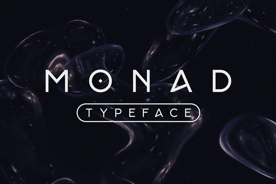 Monad Typeface ~ Sans Serif Fonts ~ Creative Market