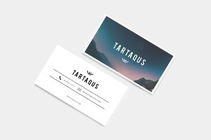 Tartaqus Business Card - Elegant