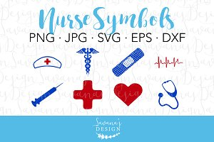 Nurse Bundle Crafting Cut Files