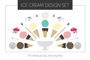 Ice Cream Cone and Dish Designs