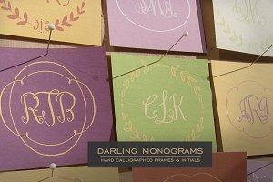Darling Monograms