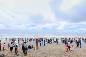 Juhu Beach - Mumbai