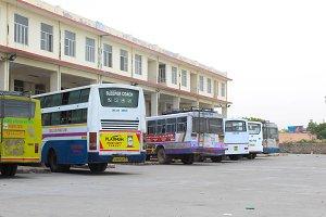 Barmer Bus Stop - Rajasthan - Indian