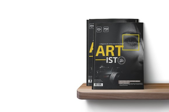 Art-ist Magazine Template Vol.2