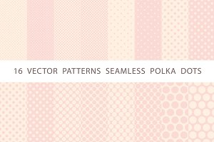 patterns seamless polka dots