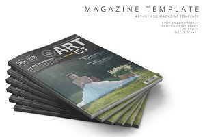 Art-ist Magazine Template Vol.3