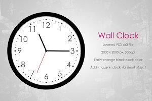 Wall Clock Mockup v1