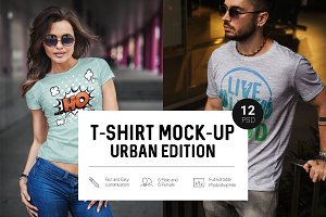 T-Shirt Mock-Up Urban Edition