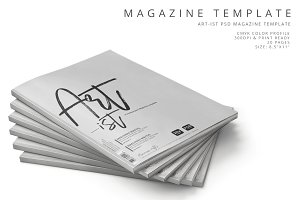 Art-ist Magazine Template Vol.6