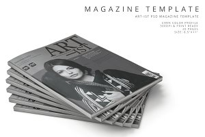 Art-ist Magazine Template Vol.7